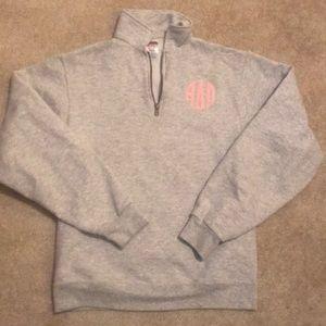 ADPi quarter zip sweatshirt